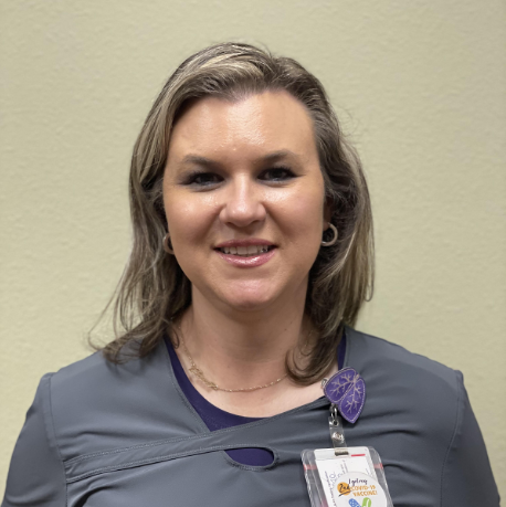 Bobbie Davis, Respiratory Lead